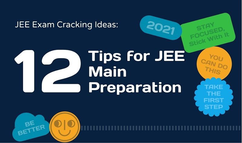 [Infographic] 12 Awesome Tips for JEE Main 2021 Preparation