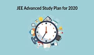 JEE Adv study plan 2020