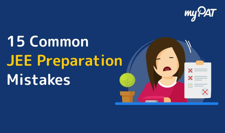 15 Mistakes IIT JEE Aspirants Commit
