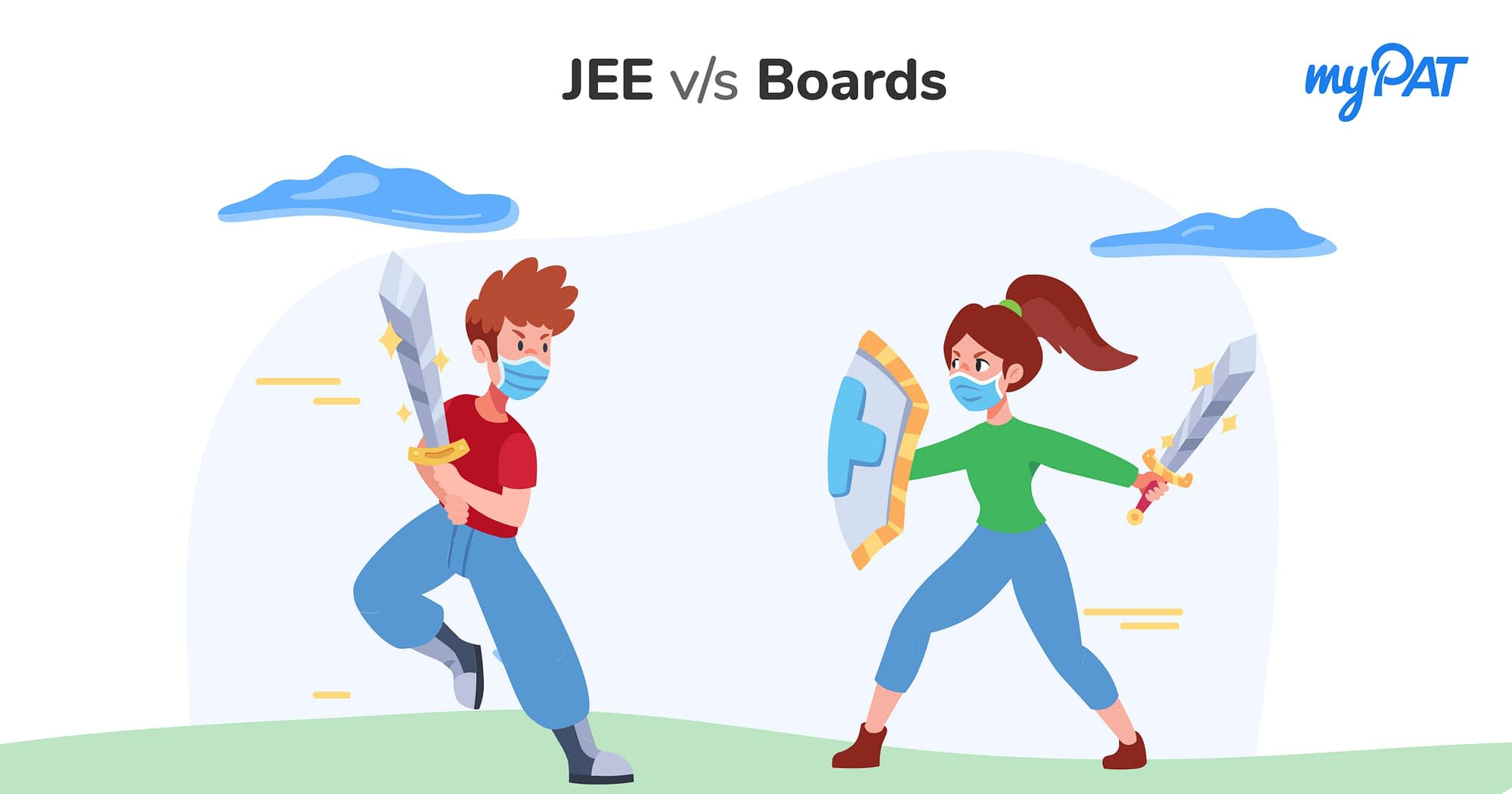 The Battle of JEE & Class 12 Board: 2021