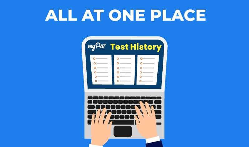 myPAT Test History – All Test Attempts at One Place