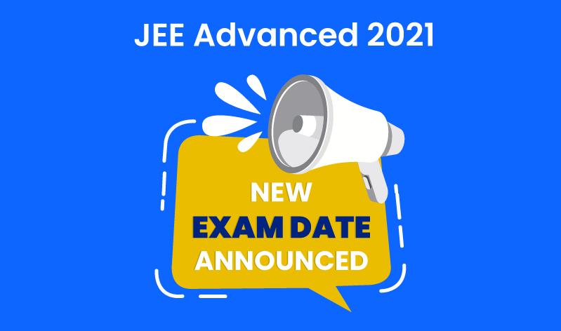 JEE Advanced 2021 exam date