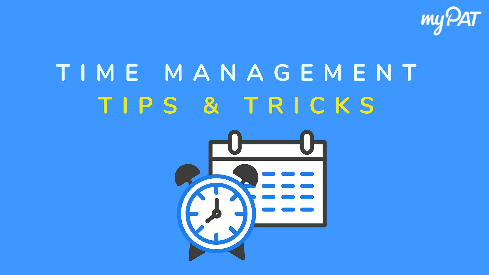 Time Management Tips & Tricks during Exam Preparation